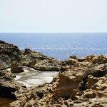Sea near Dwejra Bay