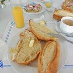 desayuno sencillo, no merece la pena