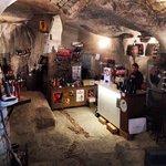 Amazing cave bar!