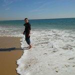 Unten am Meer