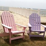 Cape Cod chairs of many colors!