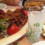A little bit of raki with our meats