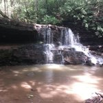 1st waterfall. Gorgeous.