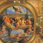 One of the picture on the ceiling