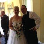 our brilliant wedding day