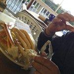 cangrejos y cerveza en Bethesda