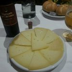 Manchego cheese plate