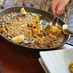 Paella Marisco Ciega (alles fertig geschält)