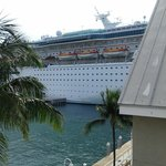 cruise ship dock