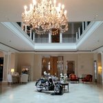 Hotel lobby in the main building