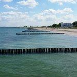Beach view towards Rostock