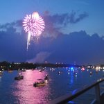Fireworks on the 4th from the Henrietta111