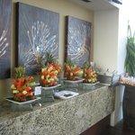 Breakfast buffet at Insu Sky Lounge