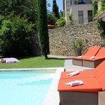 Der Pool und das Haus