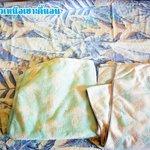 ผ้าปูที่นอน-ผ้าขนหนูลายเก่าโครต
