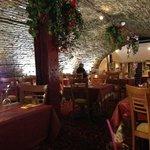 The inside of Mezze Palace