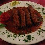 Spicy lamb kebabs
