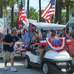 The BVR staff in the 4th of July parade.