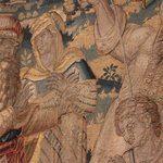 Detail from a tapestry