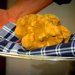 Tartufo bianco. White truffle.