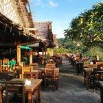 the beach bar itself