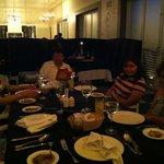 Cenando en el Restaurant Italiano