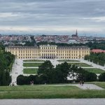 Schonnbrunn dalla Gloriette
