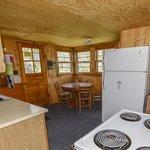 Fireside Cabin Full Kitchen