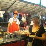 Dongzhimen food street - yummy!