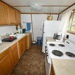 Overlook Cabin Full Kitchen