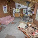 Overlook Cabin Living area
