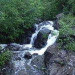 Nice waterfall along the way
