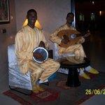 Musiciens restaurant Marocain