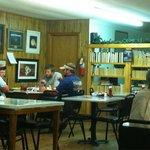 Homey dining area