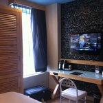 Wardrobe & Tv & Work desk