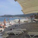 Den privata stranden