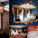Rm 206 - James Madison Room - Queen w/ river view, spa tub & sleeper sofa
