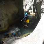 Descente du canyon de Cramassouri - Tinée