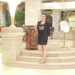 En el Lobby del hotel