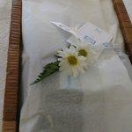 Wäsche mit Liebe dekoriert