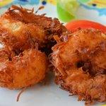 Shrimp coconut