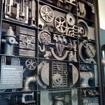 A collage of iron works. Detailed and fascinating.