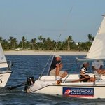 Sailing class with Offshore Sailing School in Pine Island Sound off Captiva Island, Florida
