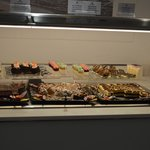 sweets (this was half way through service and was topped up and tidied)