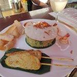 amazing food at the resort restaurant
