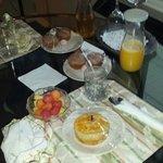 Breakfast. ..