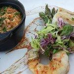 Amberjack Fish w/ Risotto and Asparagus