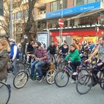 Critical Mass, last friday of the month. Loved it & the owners were founders of Critical Mass Ti
