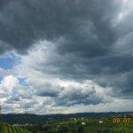nuvole minacciose in questo mese di luglio stranissimo