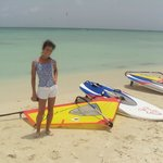 First time windsurfing